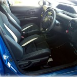 アクアg'sの運転席